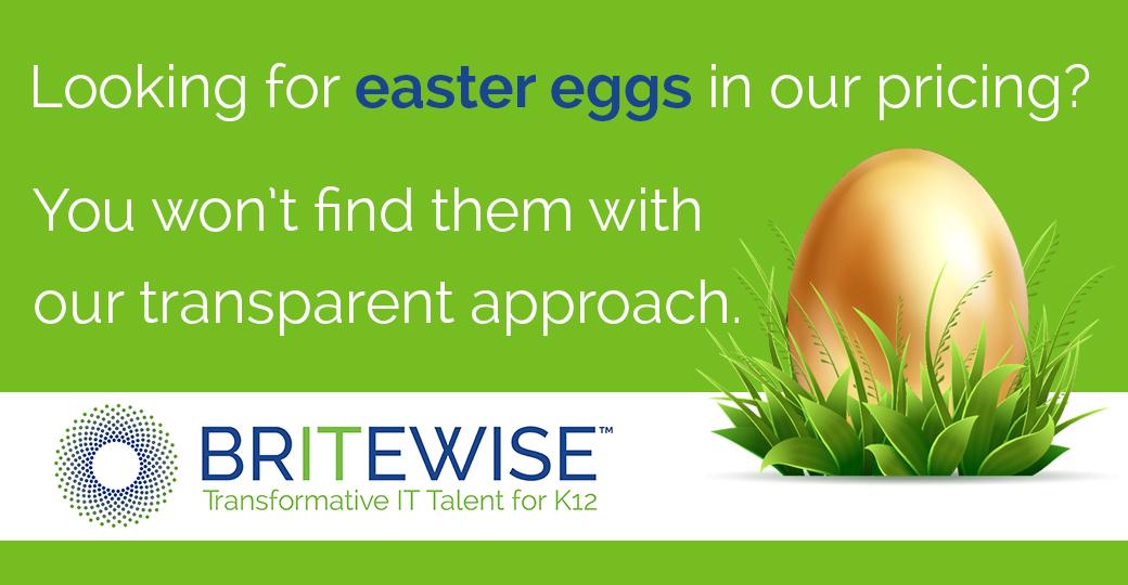 BRITEWISE Easter Egg